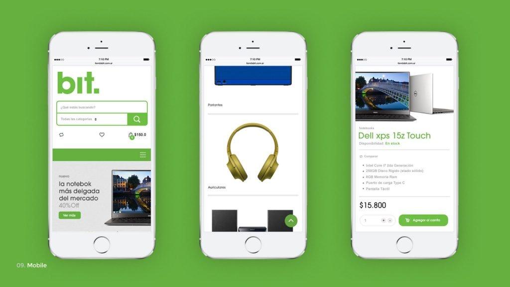 Tiendabit - smartphone - GONNI UX Agency