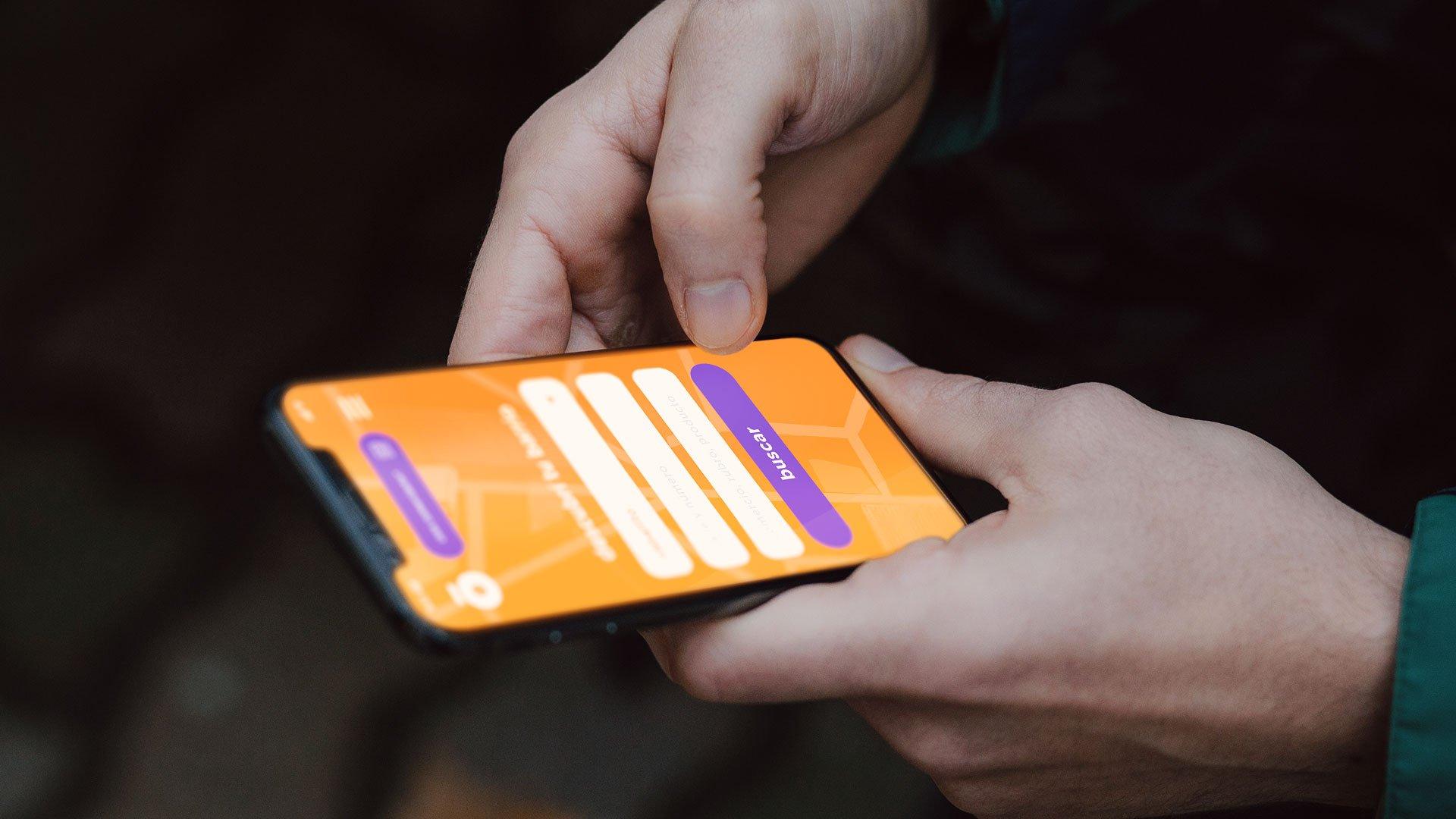 UX mobile web app front end