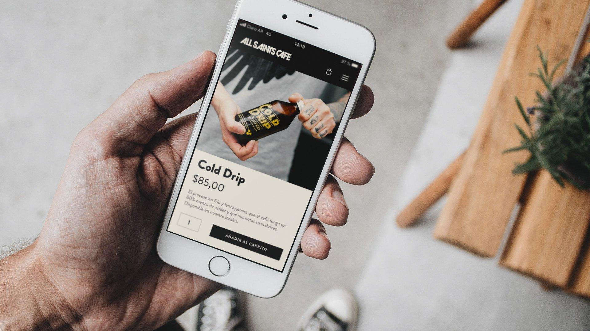 Specialty Coffee Ecommerce Design
